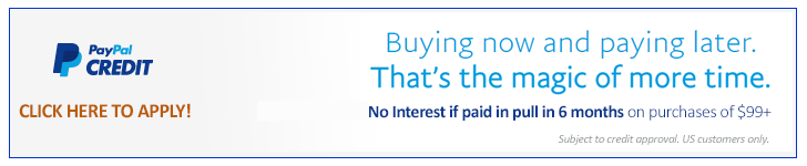 Financing Options at Paypal Credit